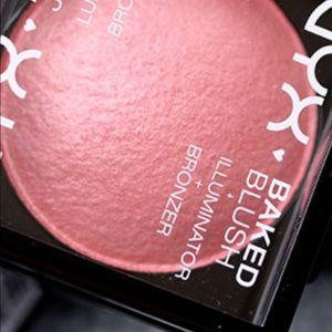NWT nyx baked blush+ illuminator lady like